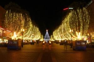 クリスマスイルミ多摩