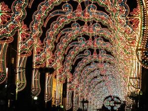 クリスマスイルミ神戸