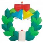 クリスマス飾りのおりがみ折り方動画まとめ!サンタやツリーを簡単に