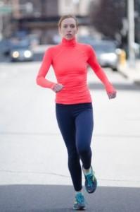 冬女性ランナー1