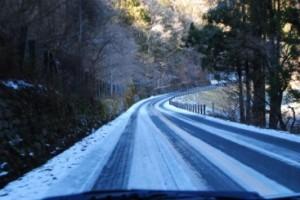 凍結道運転2