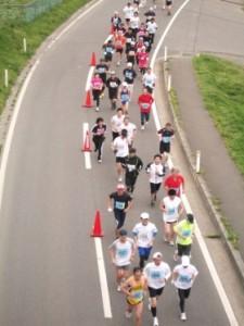 マラソン関門1