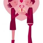 彼氏に一番喜ばれるバレンタインプレゼントは何?1位はアレ!?