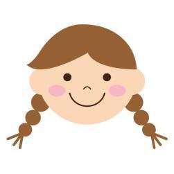 女の子入学式髪型2