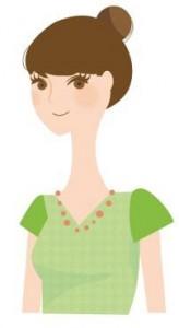 女の子入学式髪型6