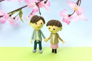 東京お花見デート1