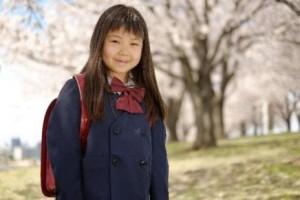 女の子入学式髪型1